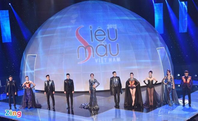 Nam sinh San khau Dien anh dang quang Sieu mau Viet Nam 2015 hinh anh 9