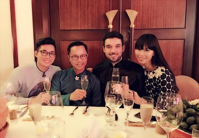 Tang Thanh Ha, Doan Trang don nam moi o troi Tay hinh anh 6
