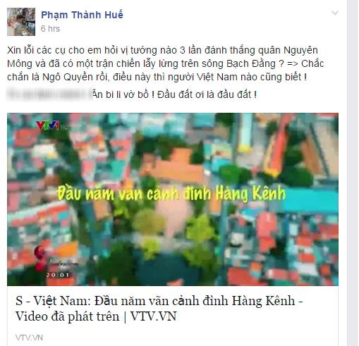 Chuong trinh S - Viet Nam cua VTV sai kien thuc lich su hinh anh 1