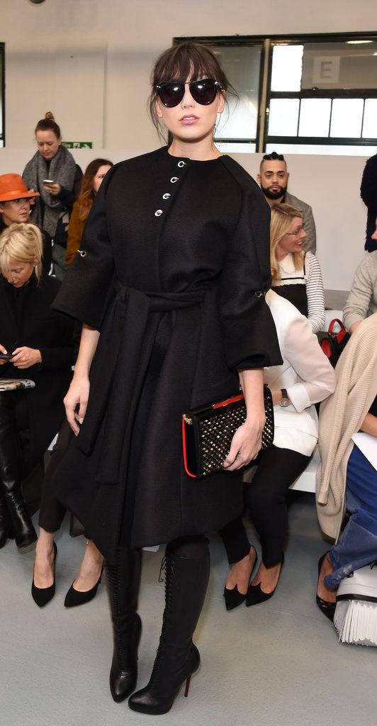 Sao mac sanh dieu o London Fashion Week hinh anh 9
