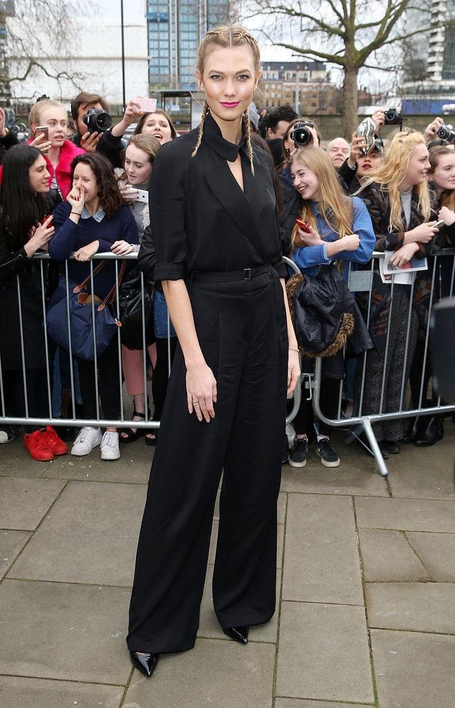 Sao mac sanh dieu o London Fashion Week hinh anh 3