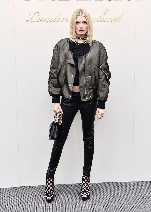 Sao mac sanh dieu o London Fashion Week hinh anh 7