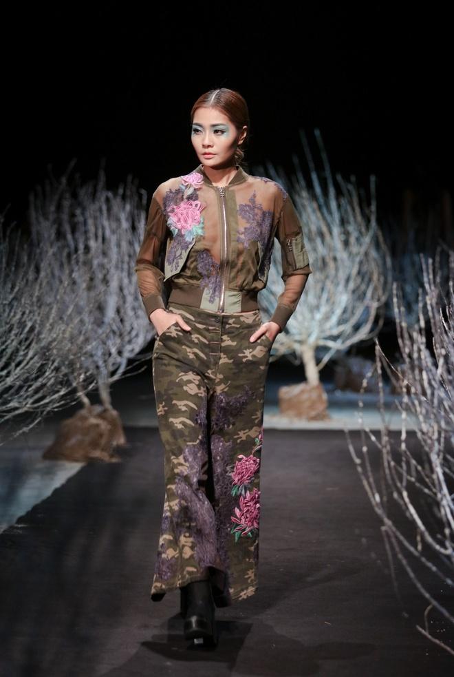 Phong cach da dang o Tuan le Thoi trang Viet Nam hinh anh 6