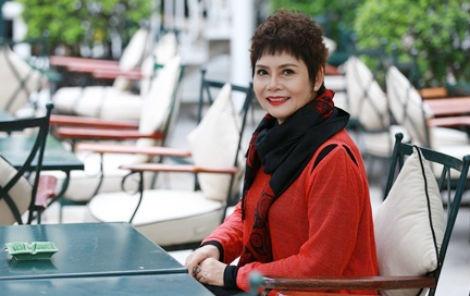 NSND Minh Chau: 'Van hoc tieng Anh, len Facebook hang ngay' hinh anh