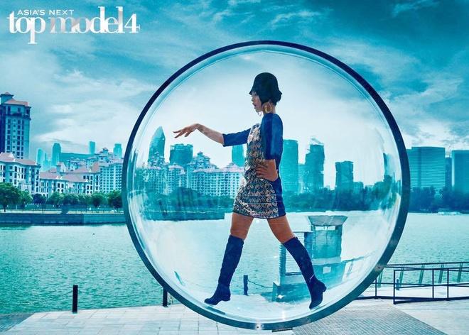 Quynh Mai suyt bi loai o tap dau Asia's Next Top Model hinh anh 2