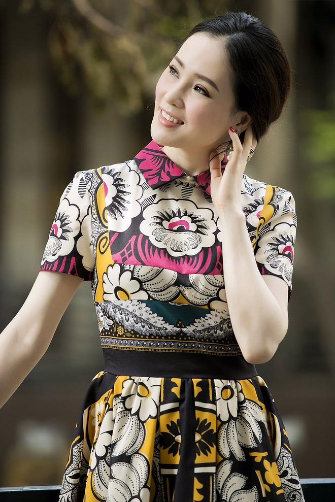 Thai Nhu Ngoc khoe dang voi vay hang hieu nghin do hinh anh 1