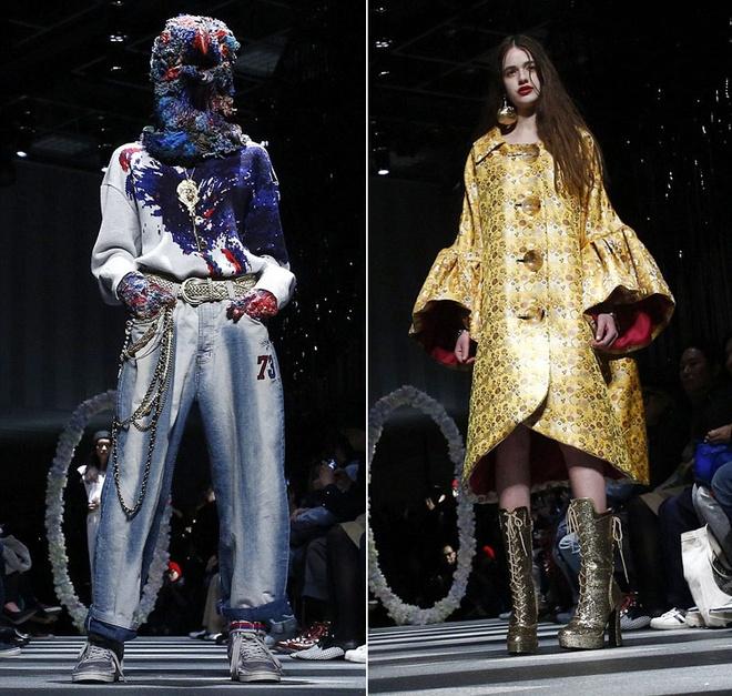 Nhung man hoa trang noi da ga o Tokyo Fashion Week hinh anh 8