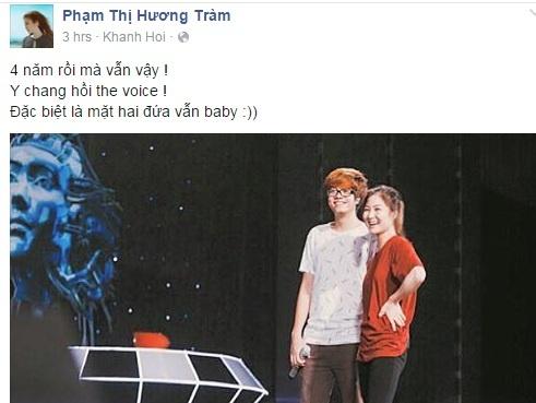 Huong Tram bi nghi vuong van tinh xua voi Bui Anh Tuan hinh anh 10