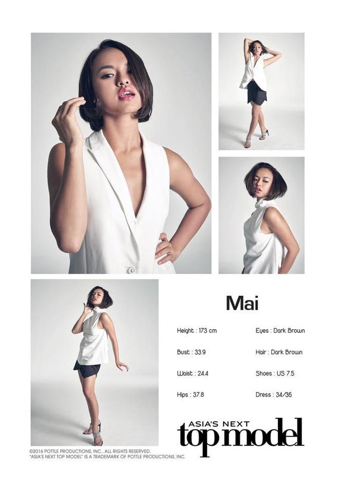 Quynh Mai bi loai som o Asia's Next Top Model hinh anh 1