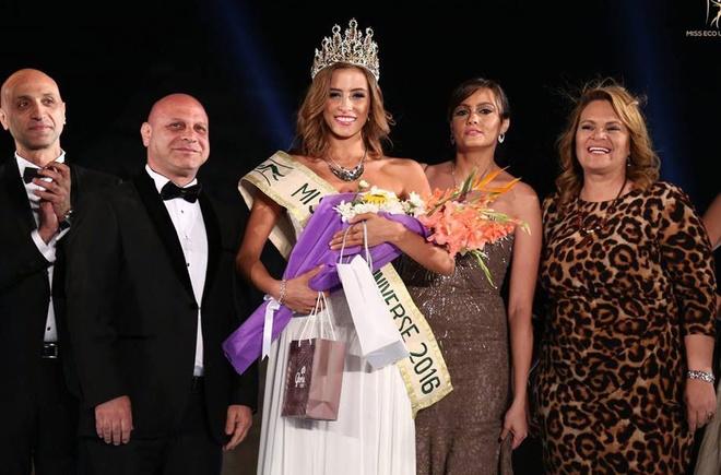 Nguoi dep Costa Rica dang quang Miss Eco Universe 2016 hinh anh 1