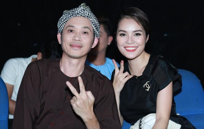 Truong Giang om chat Duong Cam Lynh tren san khau hinh anh 5