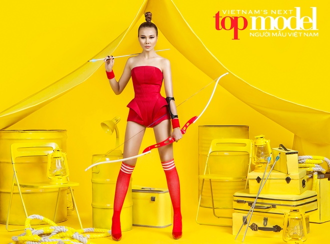 Thanh Hang cam trich Vietnam's Next Top Model 2016 hinh anh 1