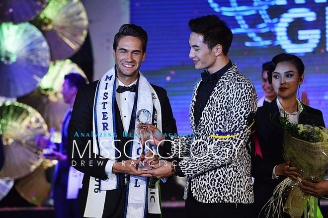 Thi sinh Viet thi chui trang tay tai Mister Global 2016 hinh anh 1