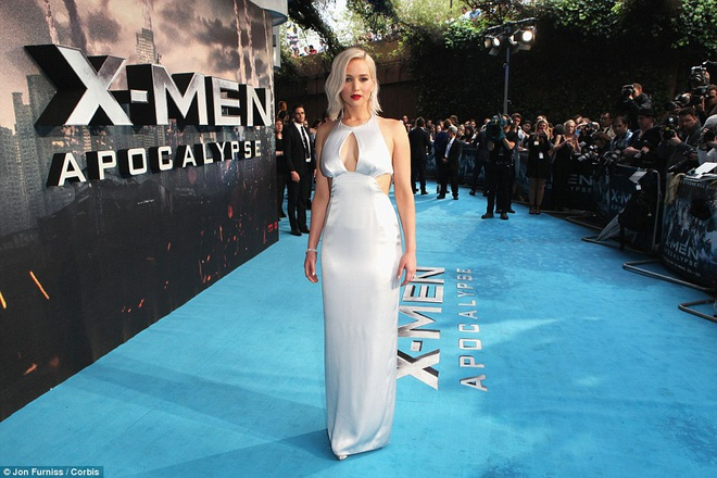 Jennifer Lawrence suyt 'vo ech' khi ra mat phim hinh anh 1