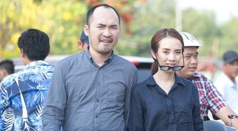 Vo chong dien vien hai Thu Trang vao vai giang ho hinh anh