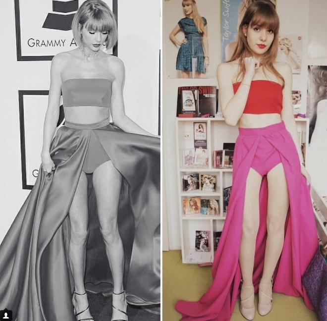 Xuat hien ban sao thoi trang cua Taylor Swift hinh anh 1