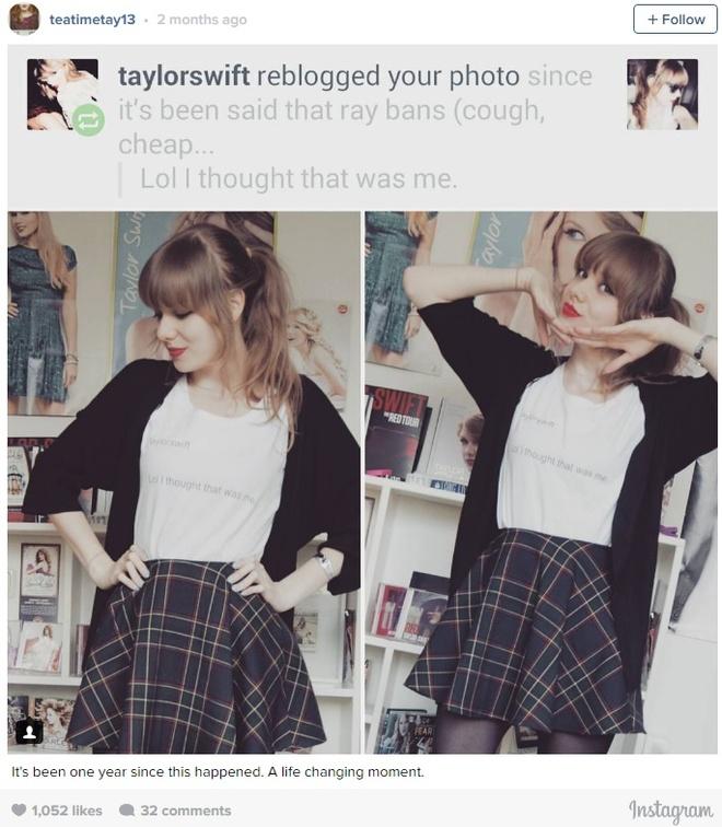 Xuat hien ban sao thoi trang cua Taylor Swift hinh anh 3