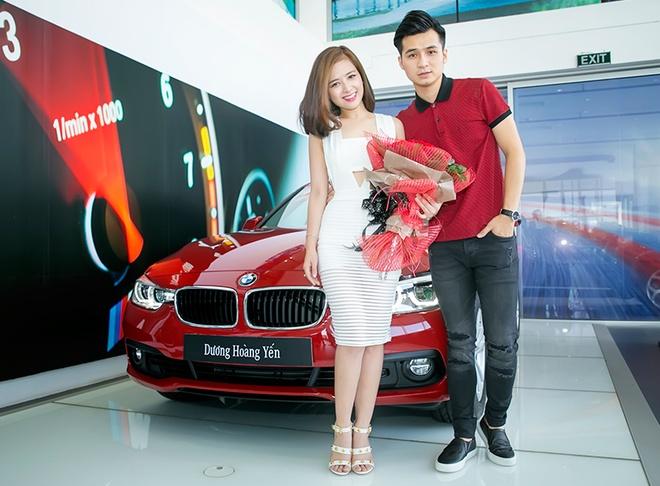 Ban trai dua Duong Hoang Yen di tau xe hoi tien ty hinh anh 7