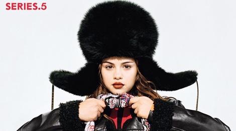 Selena Gomez lan dau lam mau quang cao cho Louis Vuitton hinh anh