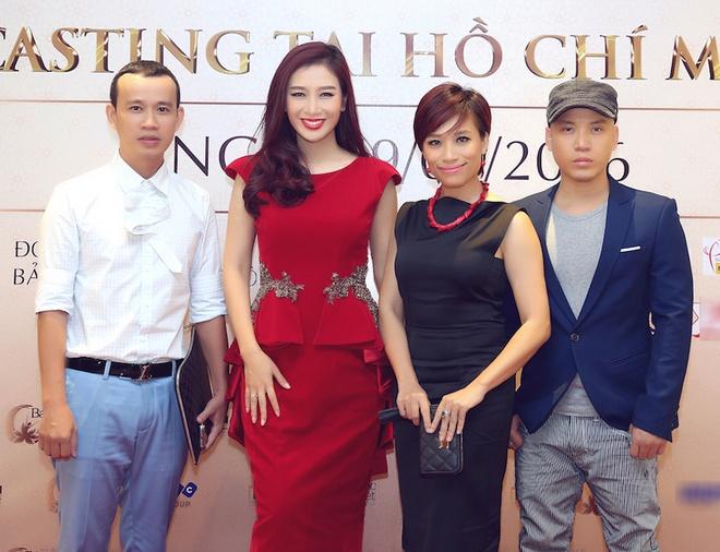 Nu sinh 9X gay chu y o casting Hoa hau Ban sac Viet toan cau hinh anh 1