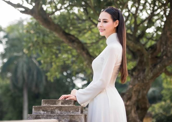 Hoa hau Bien Thuy Trang: 'Khong muon tam trang, sua nguc' hinh anh 2