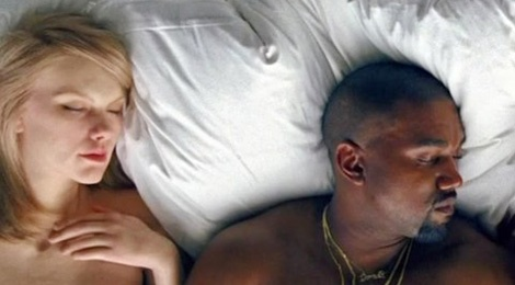 Taylor Swift nude trong MV moi cua Kanye West? hinh anh