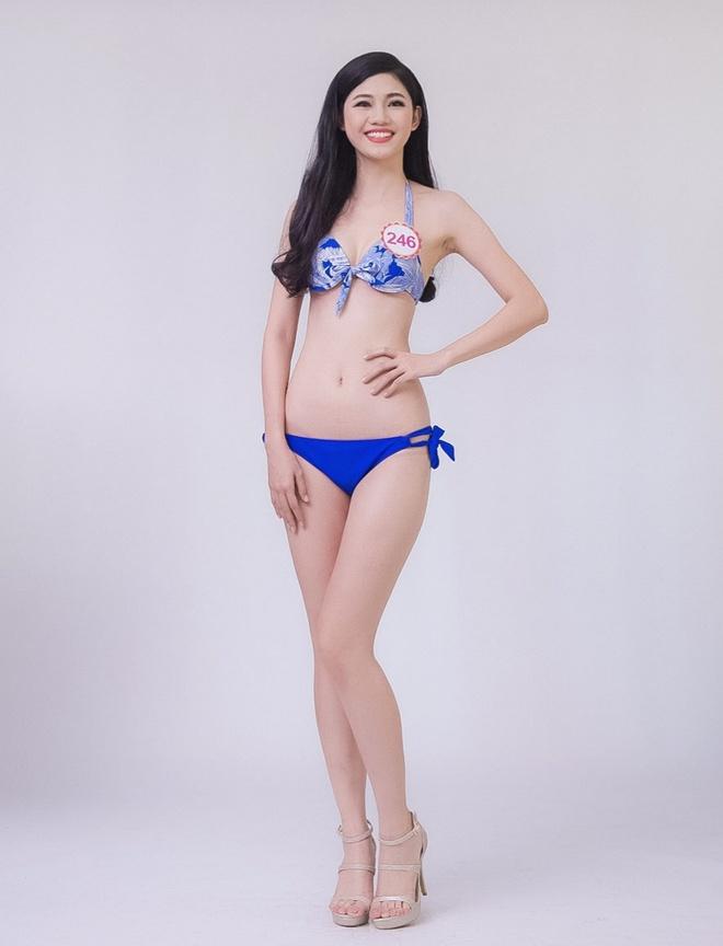 Hau truong chup bikini cua top 32 Hoa hau Viet Nam mien Bac hinh anh 3