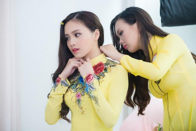 Hau truong chup bikini cua top 32 Hoa hau Viet Nam mien Bac hinh anh 8