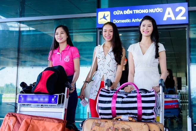 Top 18 Hoa hau Viet Nam phia Nam do bo ra Bac hinh anh 3