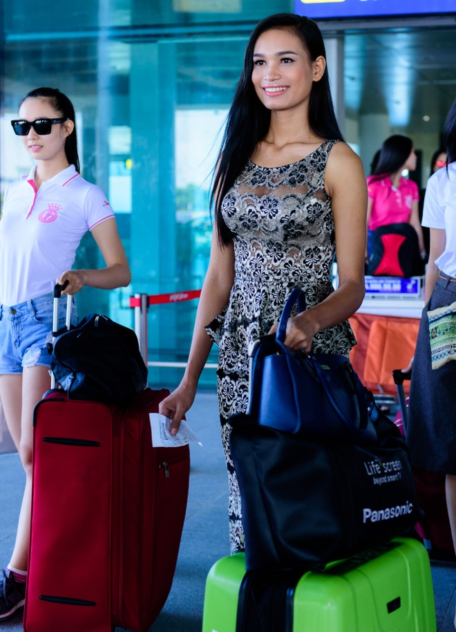 Top 18 Hoa hau Viet Nam phia Nam do bo ra Bac hinh anh 4