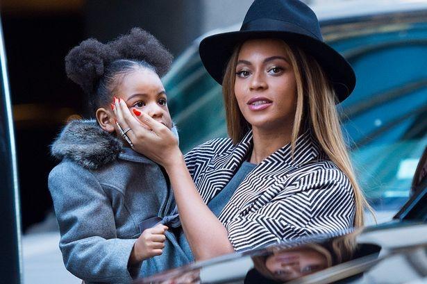 Con gai Beyonce duoc khen tao dang nhu sieu mau hinh anh