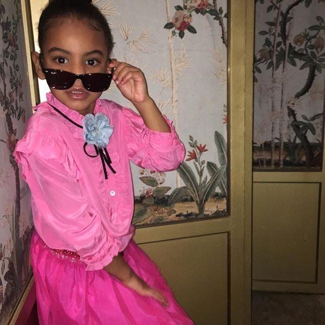 Con gai Beyonce duoc khen tao dang nhu sieu mau hinh anh 1