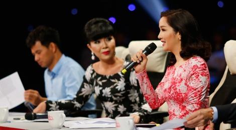 Giang My thay Tran Thanh ngoi ghe nong Nguoi dep Nhan ai hinh anh