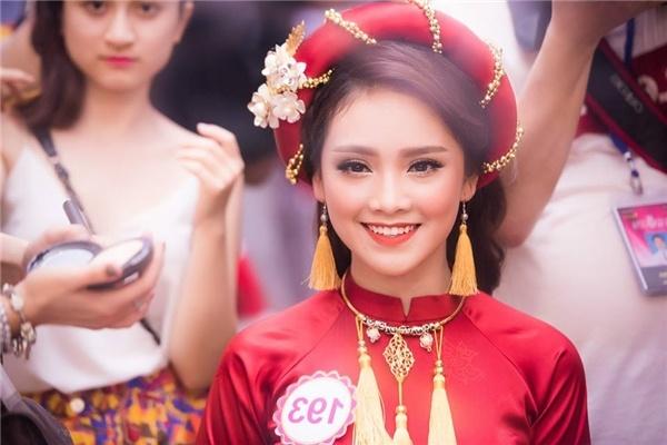 Chuyen ve thi sinh Hoa hau Viet Nam da gap Tong thong Obama hinh anh 1