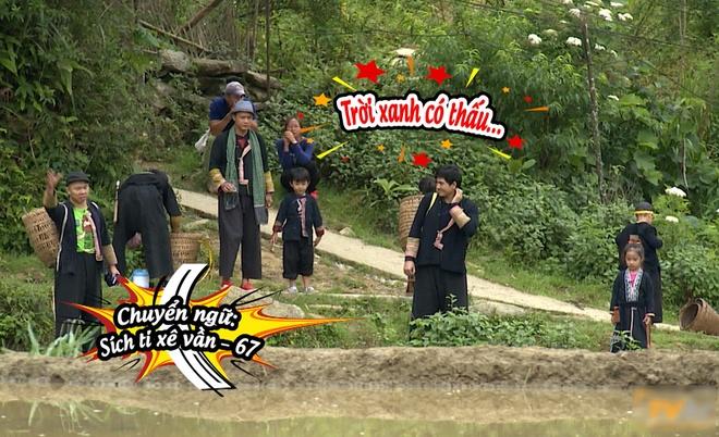 Bo con Hong Dang, Anh Khoa loi bun hoc cay lua hinh anh 1