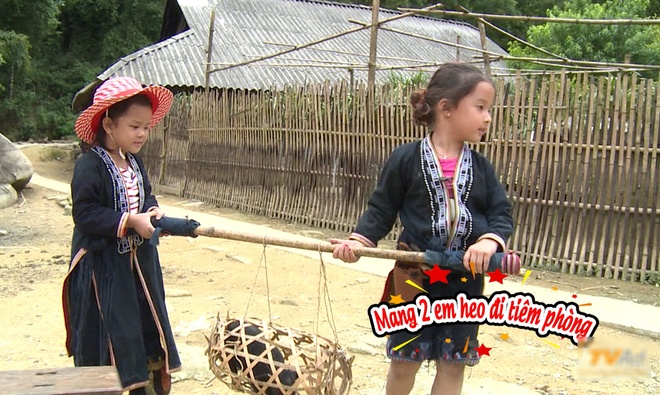 Bo con Hong Dang, Anh Khoa loi bun hoc cay lua hinh anh 7