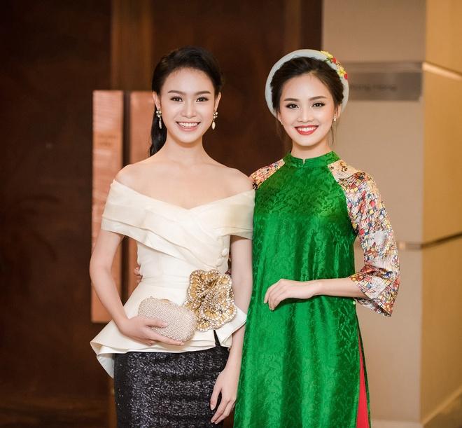 To Nhu, Ngoc Van hoi ngo sau Hoa hau Viet Nam hinh anh 1