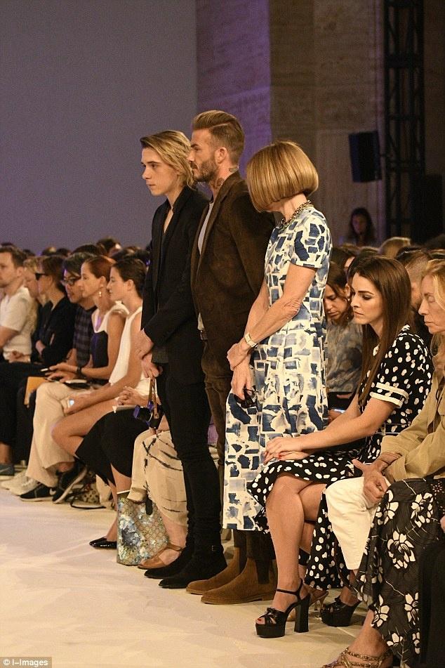 Victoria Beckham New York Fashion Week anh 2