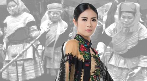 NTK Minh Hanh trinh dien bo suu tap tai Phap hinh anh