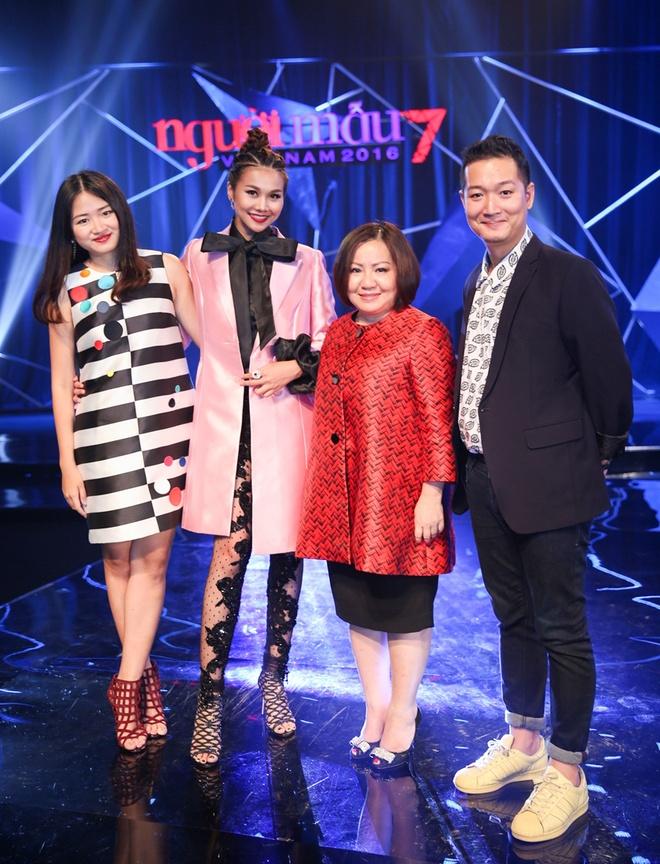 Thanh Hang dien quan xuyen thau o tap cuoi Next Top Model hinh anh 1
