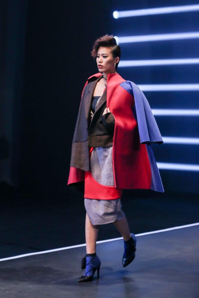 Thanh Hang dien quan xuyen thau o tap cuoi Next Top Model hinh anh 7