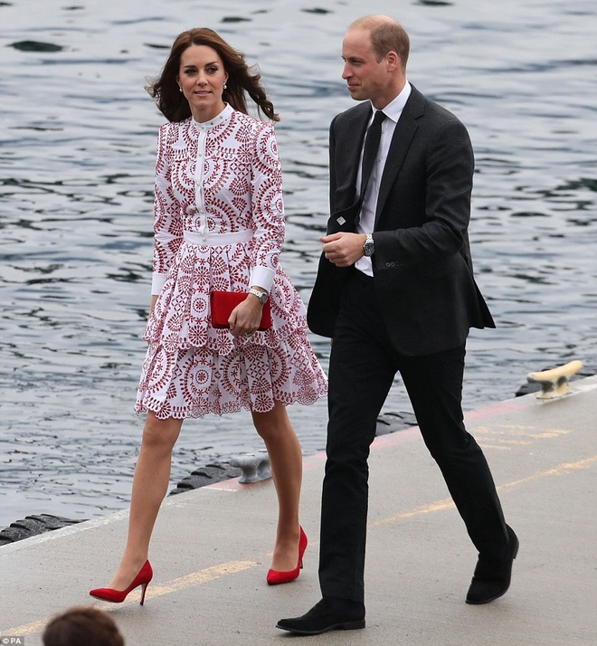 Cong nuong Kate Middleton tai Canada anh 3