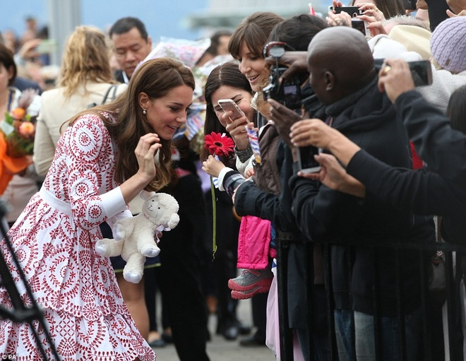 Cong nuong Kate Middleton tai Canada anh 4