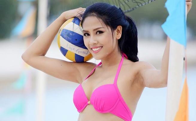 Nguyen Loan bat ngo du thi Miss Grand International 2016 hinh anh
