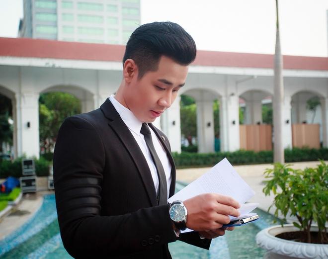 MC Nguyen Khang lich lam ben a hau Huyen My hinh anh 7
