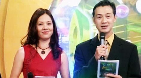 Anh cach day hon 10 nam cua MC Anh Tuan - Diem Quynh hinh anh