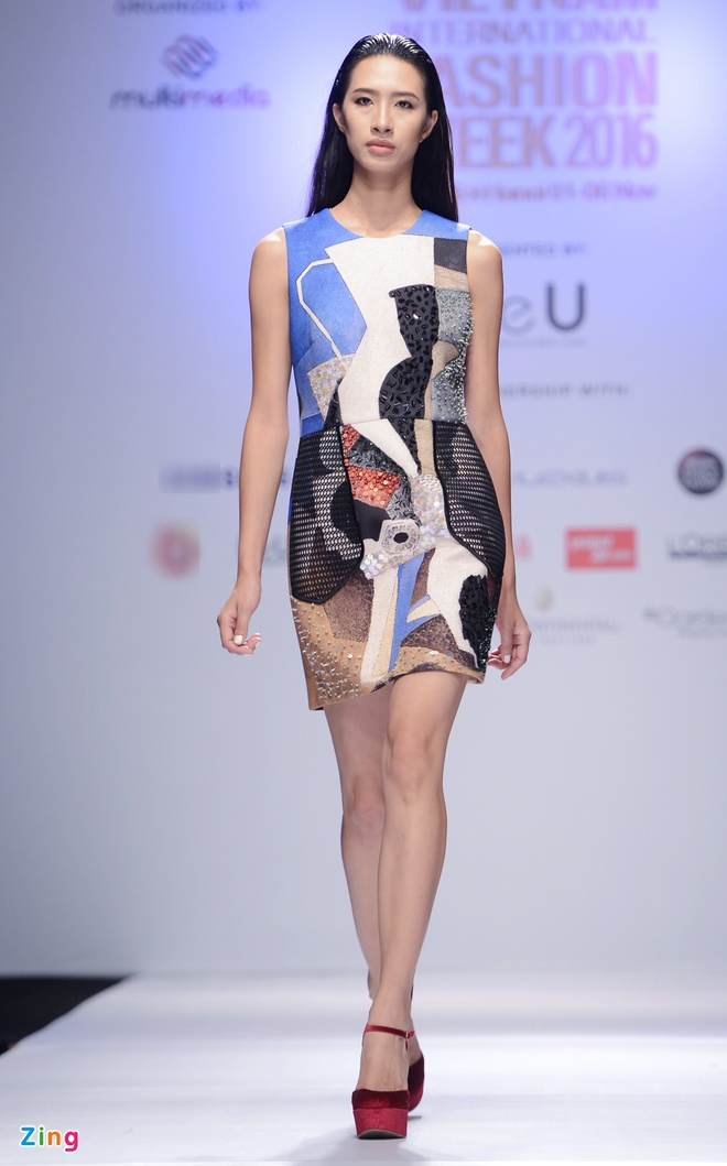 Vietnam International Fashion Week thu dong anh 8