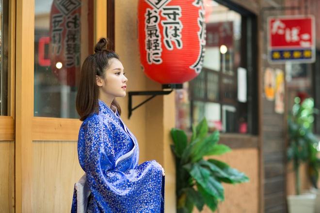 Hoang Yen Chibi mac kimono anh 1