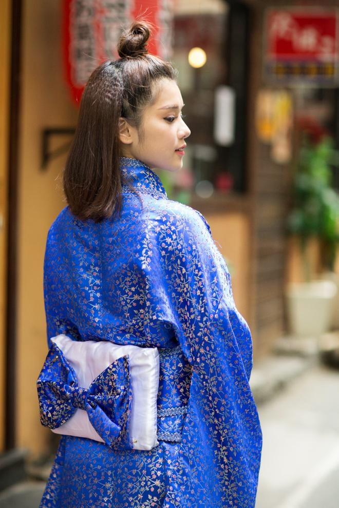 Hoang Yen Chibi mac kimono anh 2