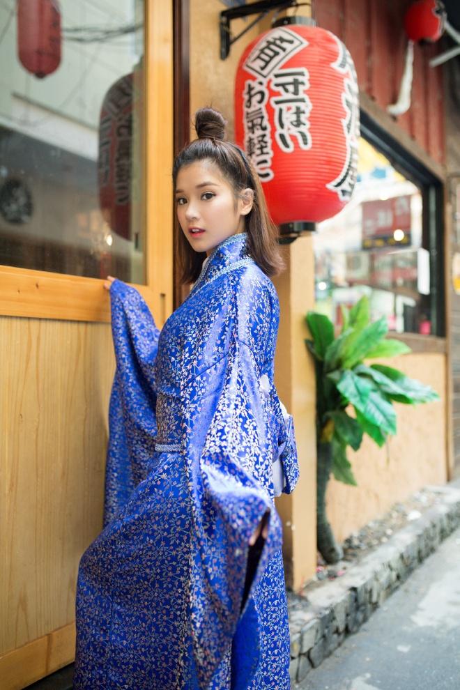 Hoang Yen Chibi mac kimono anh 3